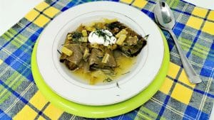 Stuffed Swiss Chard Leaves (Töltike)