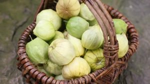 Tomatillo Salsa Verde Basket