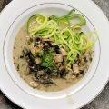 Zoodles w Mushroom Marsala Sauce Main