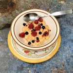 Image of overnight oatmeal carrot cake
