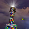 """OKUDA SAN MIGUEL on Instagram_ """"Amazing night view from the #infinitecantabria l"""