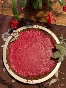 cranberry lemon curd pie