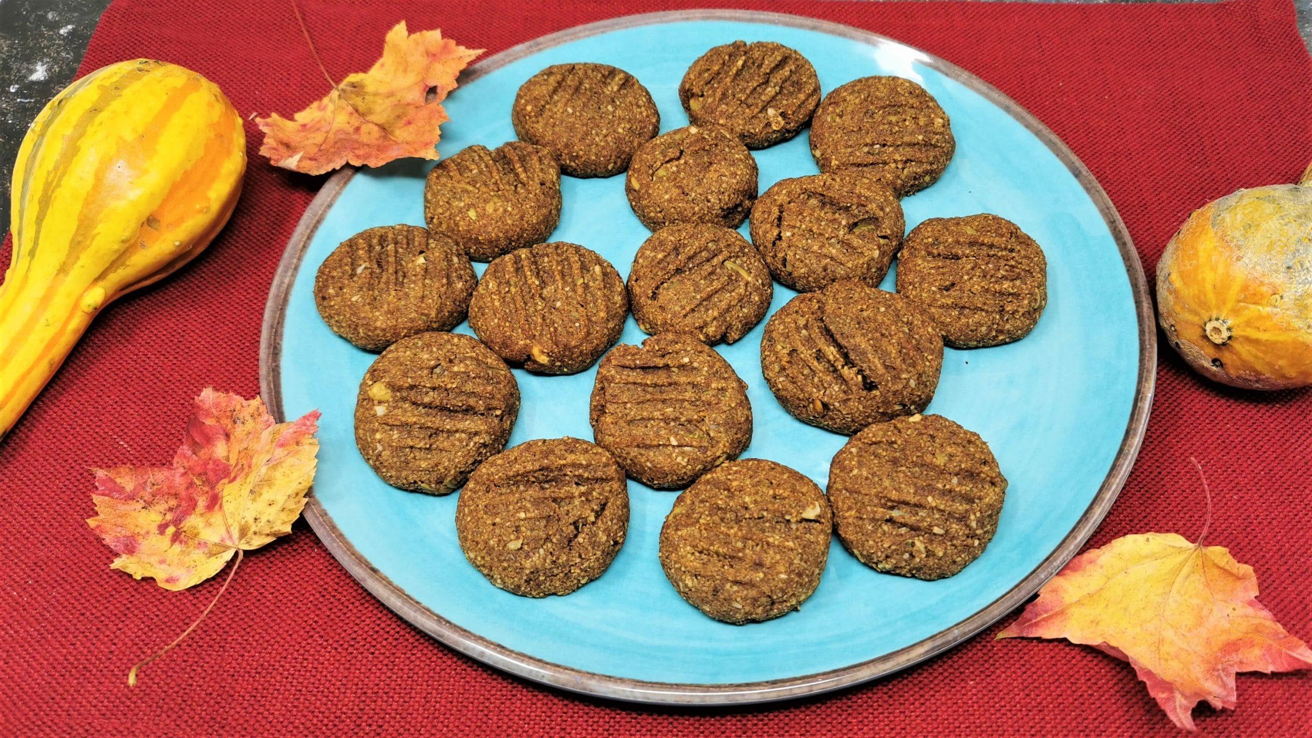 Vegan Pumpkin Cookie Main