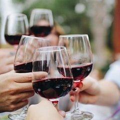 Celebrating Toasting Wine