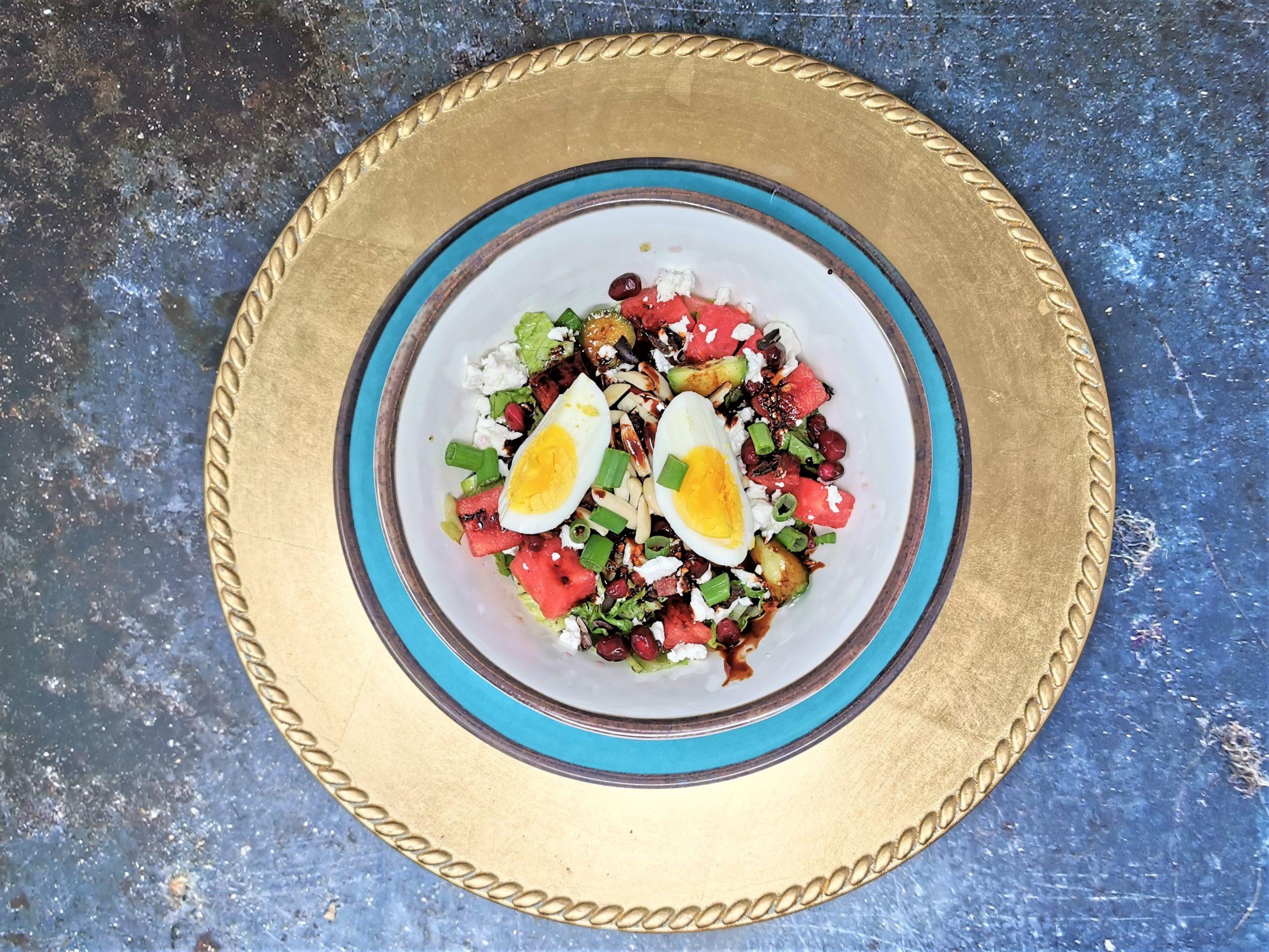 Aphrodisiac Salad with Pomegranate