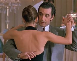 Al Pacino as Lt. Col. Frank Slade in Scent of a Woman